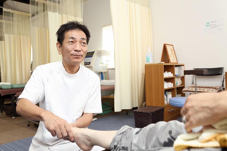 交通事故後の手足のしびれの施術
