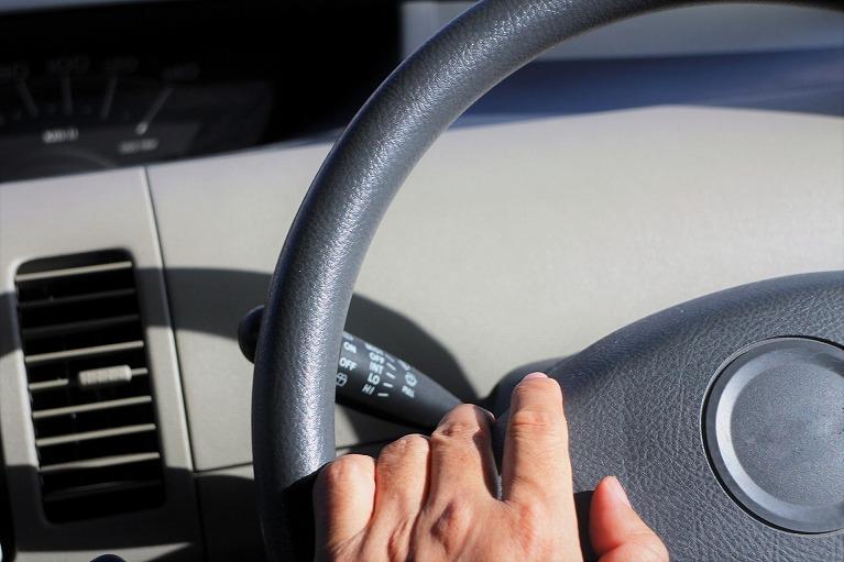 車同士の追突事故