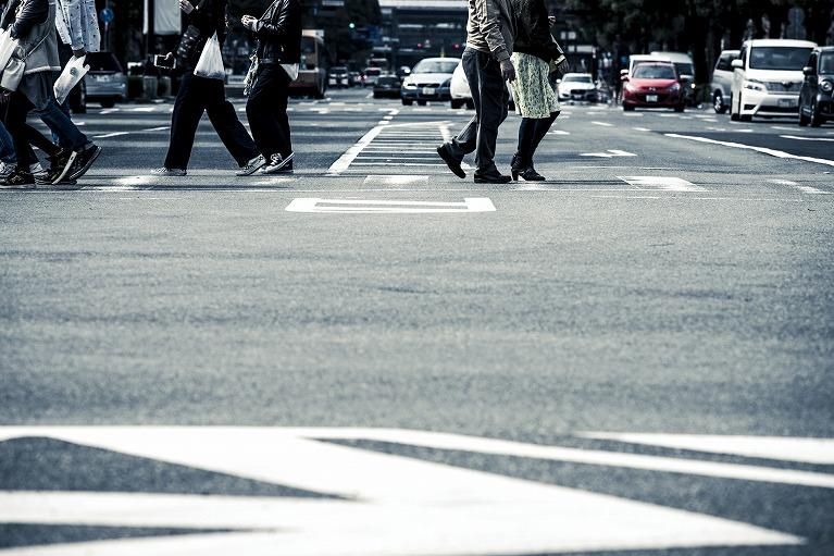 歩いていて遭った事故